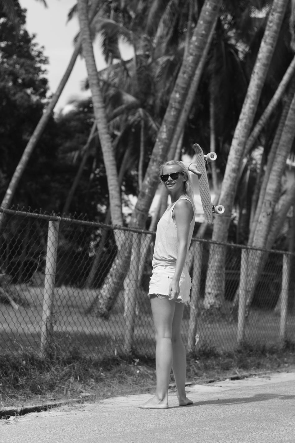 Fringe and Doll Longboard beach IMG_4762