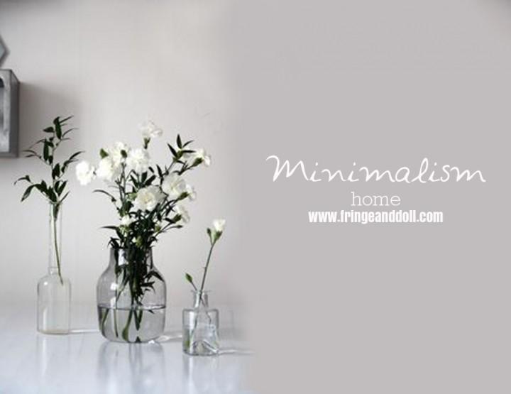 Home Decor: Minimalism