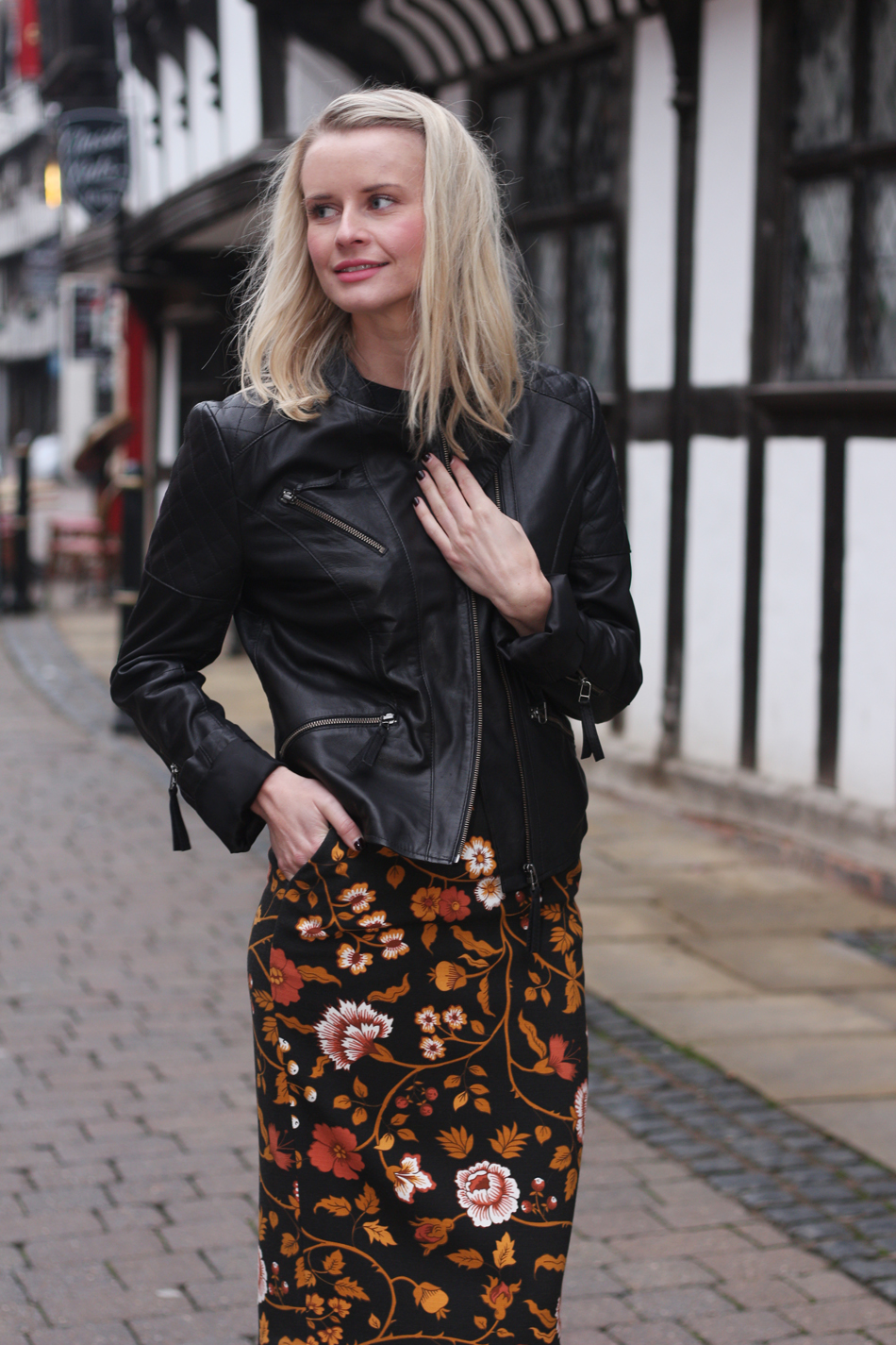 Fringe and Doll BMB floral Skirt IMG_6480