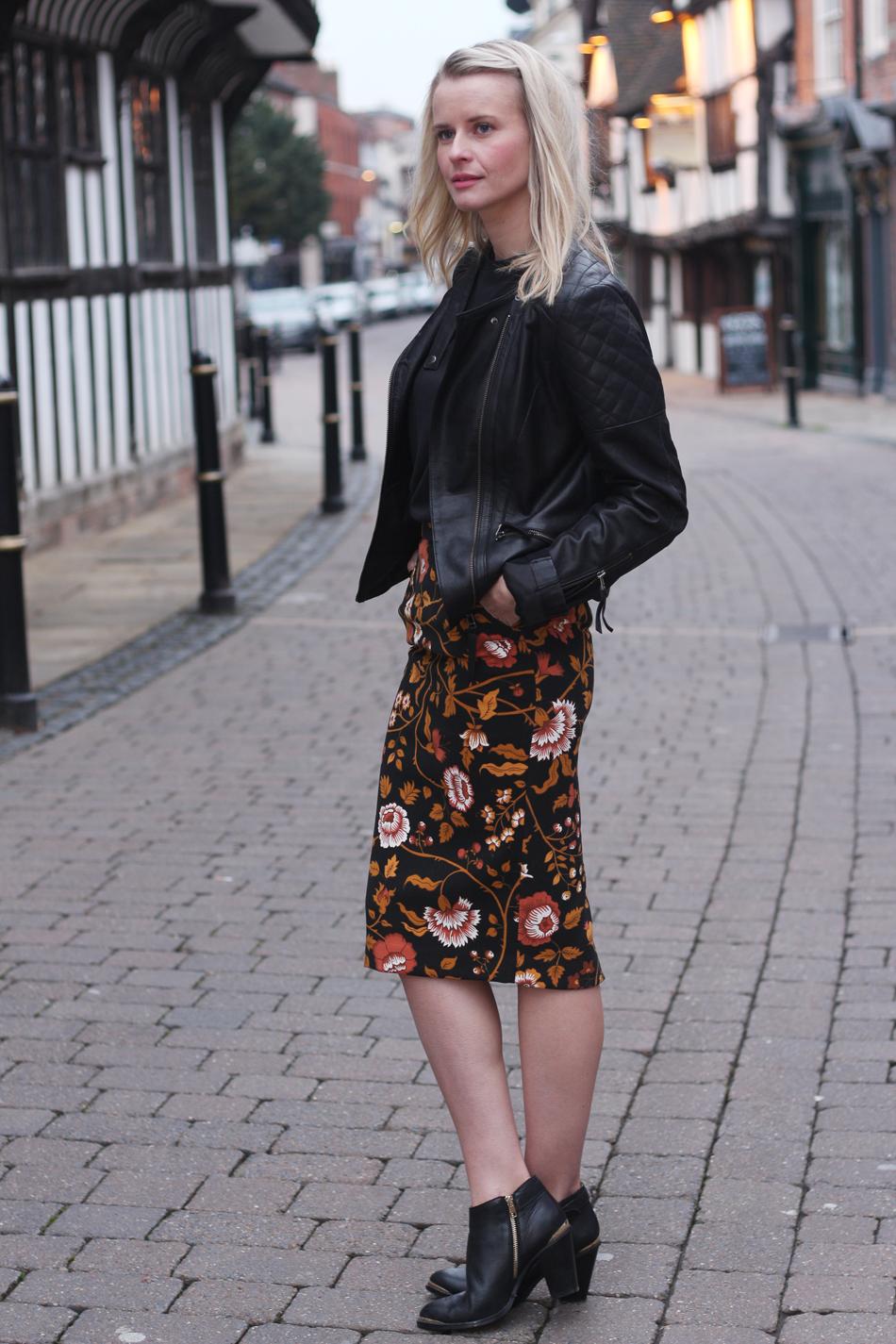 Fringe and Doll BMB floral Skirt IMG_6525