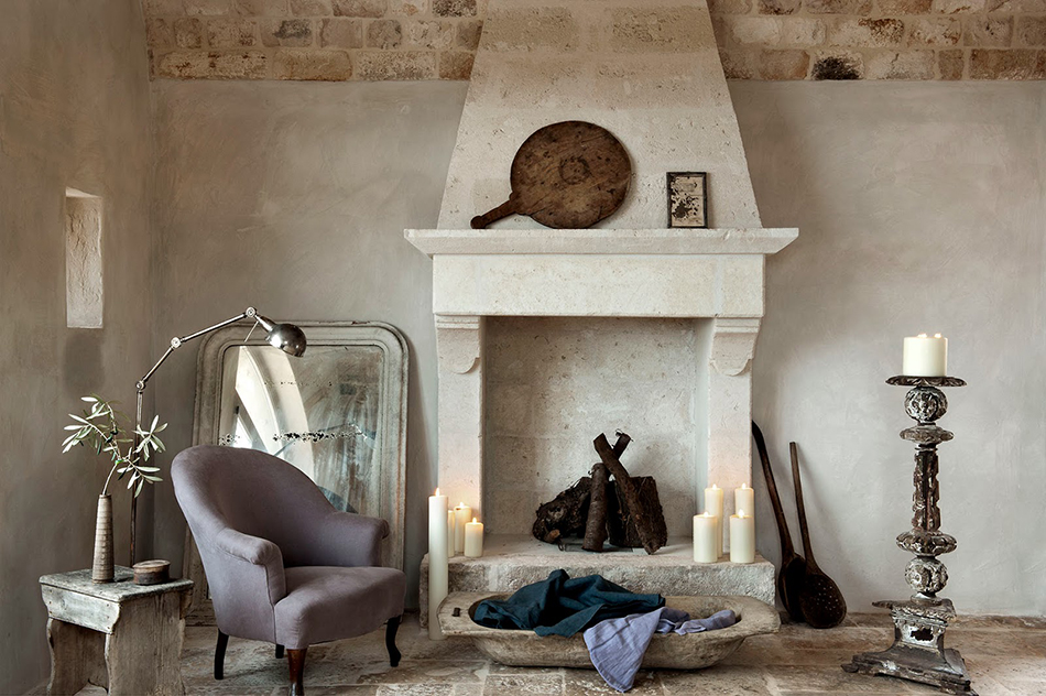 Sunday Salt & Spicy: Italian Rustic Interior on Fringe and Doll