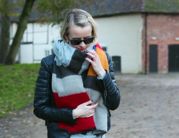 Zara scarf cover up