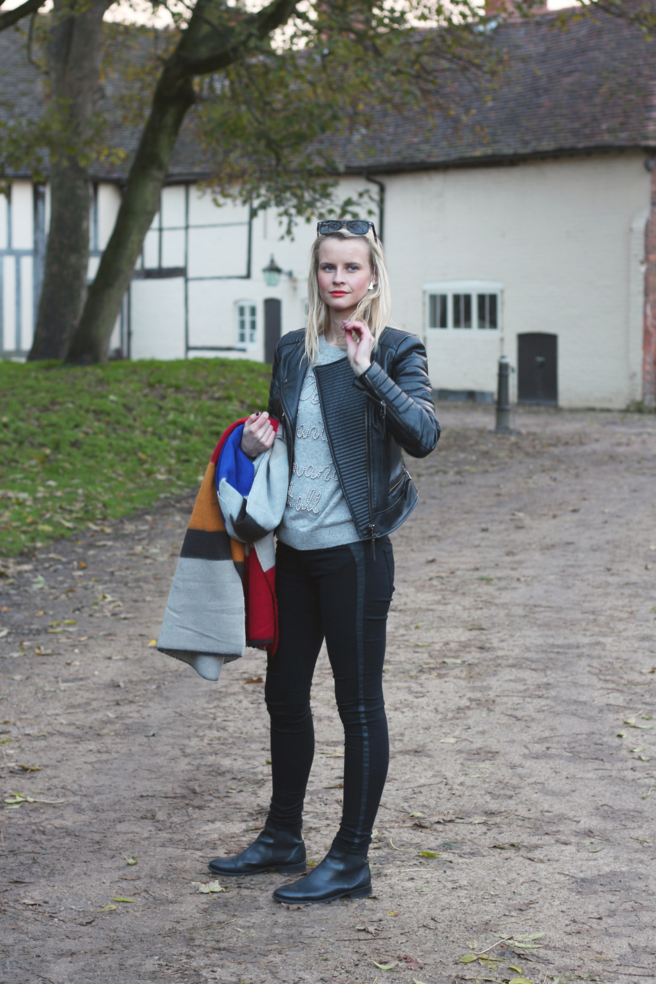 Fringe and Doll Zara Scarf Look IMG_8081