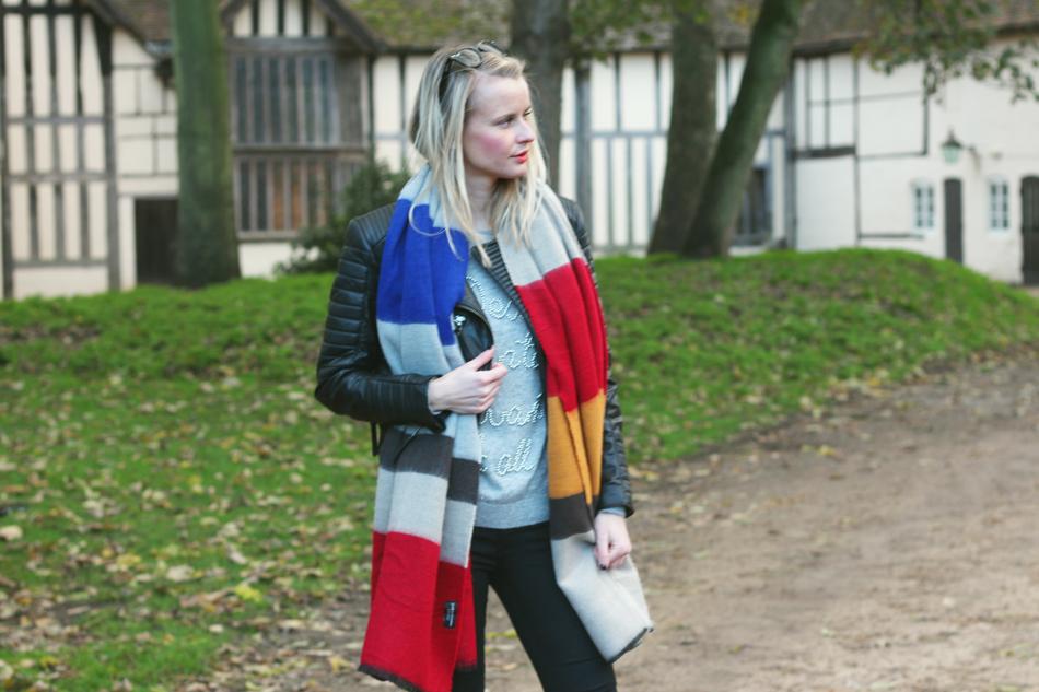 Fringe and Doll Zara Scarf Look IMG_8127