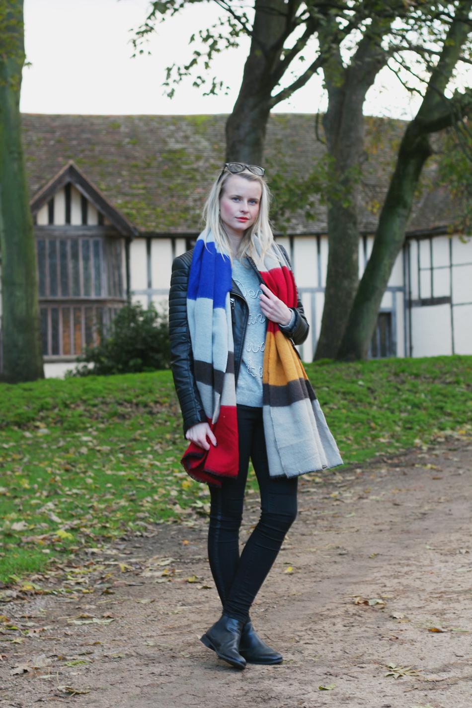 Fringe and Doll Zara Scarf Look IMG_8135
