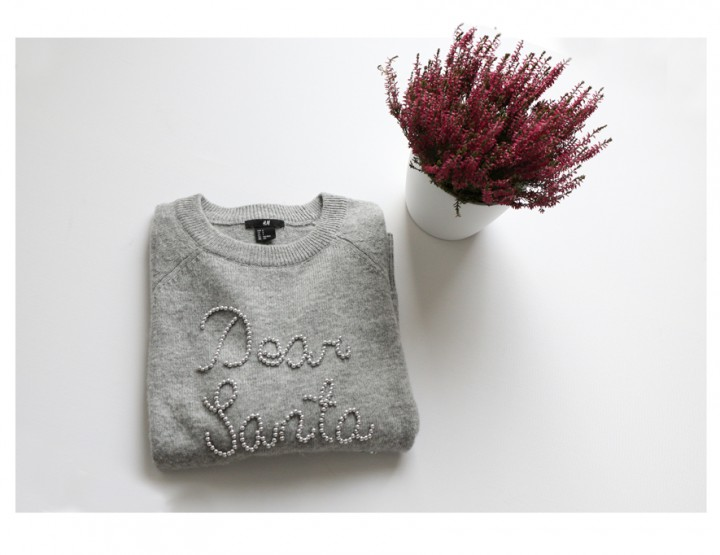 New IN: H&M Christmas Jumper