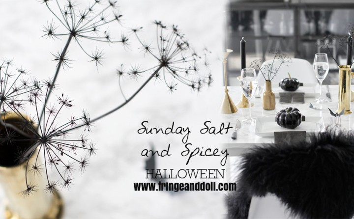 Sunday Salt and Spicy: Halloween Table Decor
