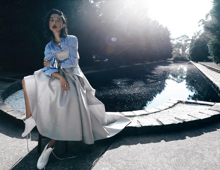 Shine by Three Editorial Elle Australia December 2014