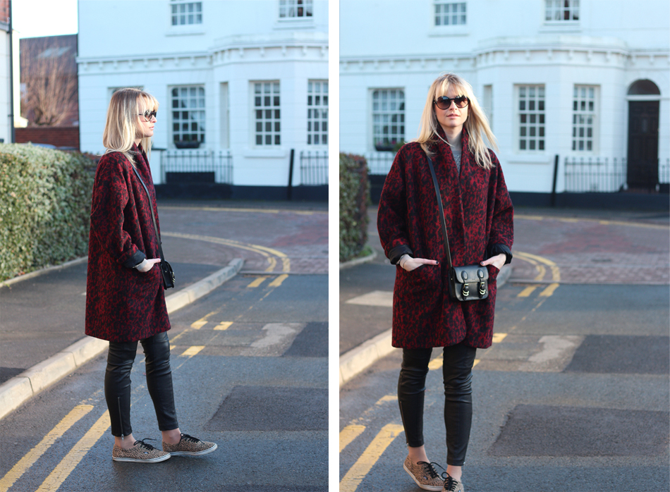 Fringe and Doll Leopard Coat double one
