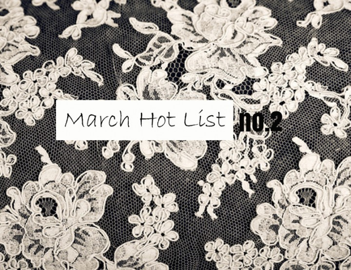 March Hot List No.2 - Valentino Lace Dress