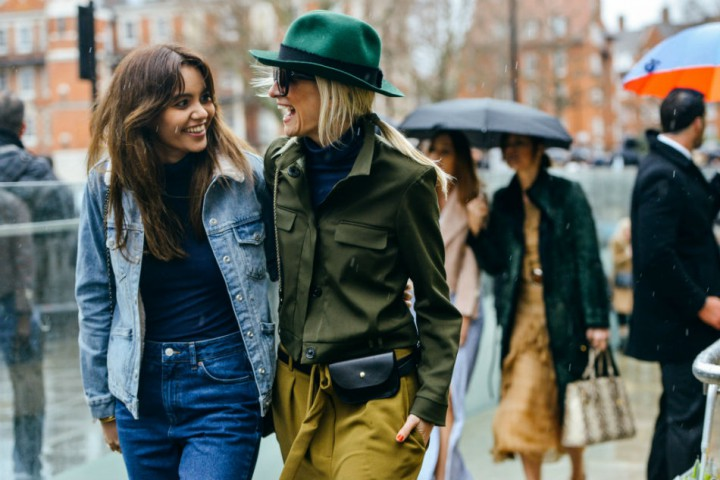Street Style at LFW AW15