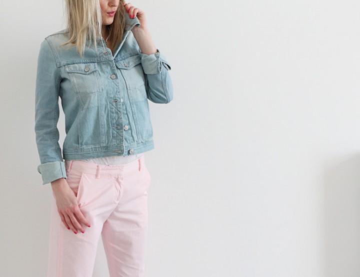 3 ways to wear: YMC Pink Chinos - part 2