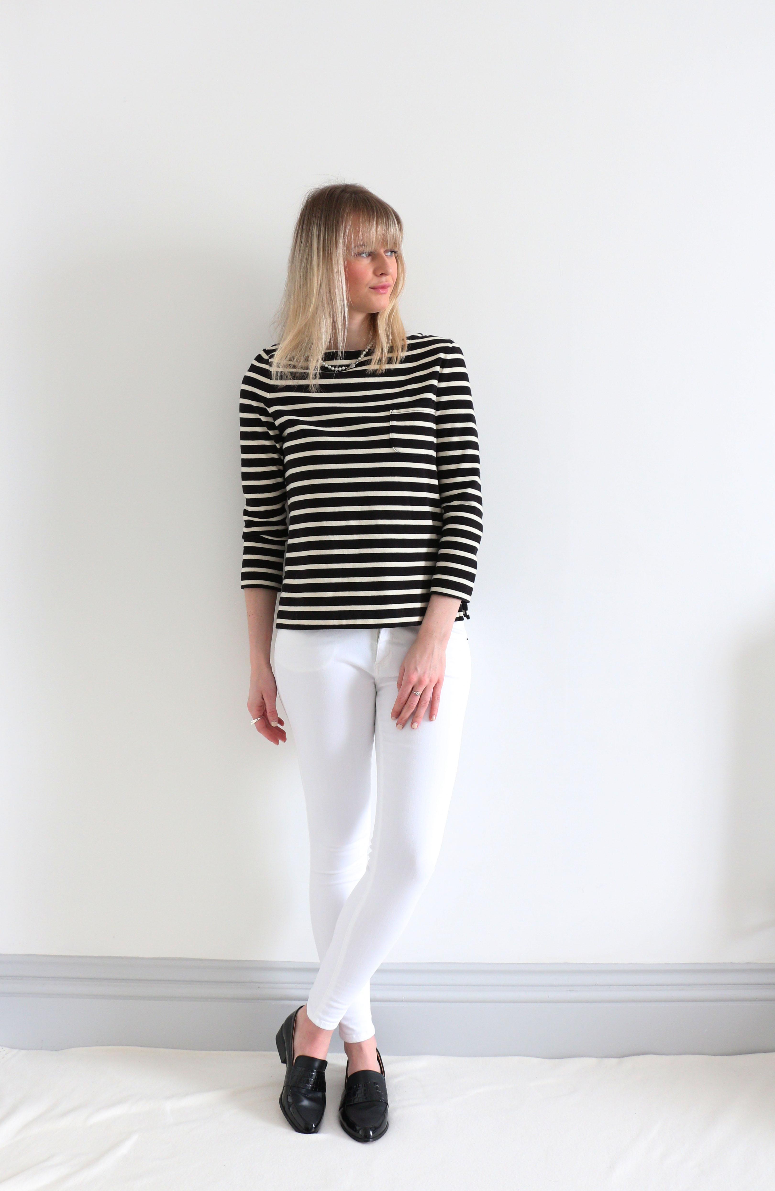 Fringe and Doll Denim Guide White AV breton top IMG_2868
