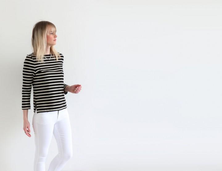 SS15 Denim Guide: American Vintage white skinny