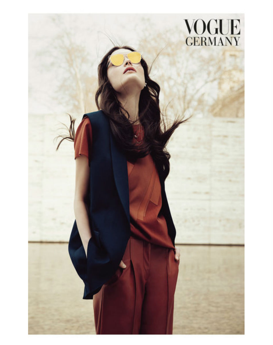 Fringe and Doll Vogue Germany editorial April 15 18