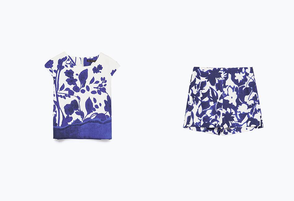 May Hot List Zara Shorts and top Fringe and Doll 2