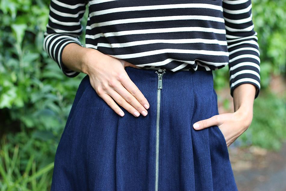 Fringe and Doll Denim skirt look IMG_6401