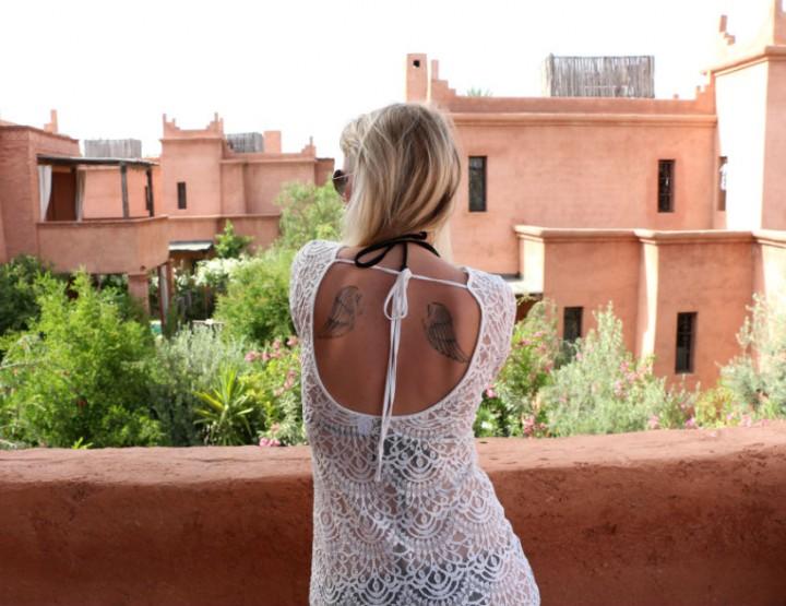 Lace Dress | Marrakech