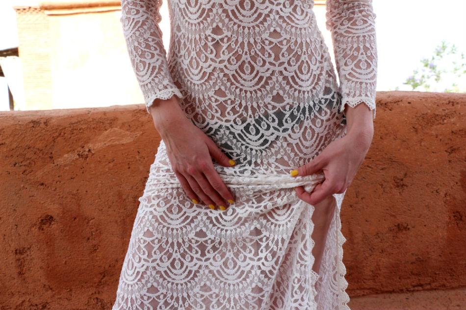 Fringe and Doll Lace dress IMG_5460