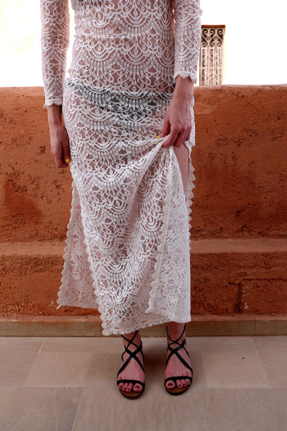 Fringe and Doll Lace dress IMG_5473