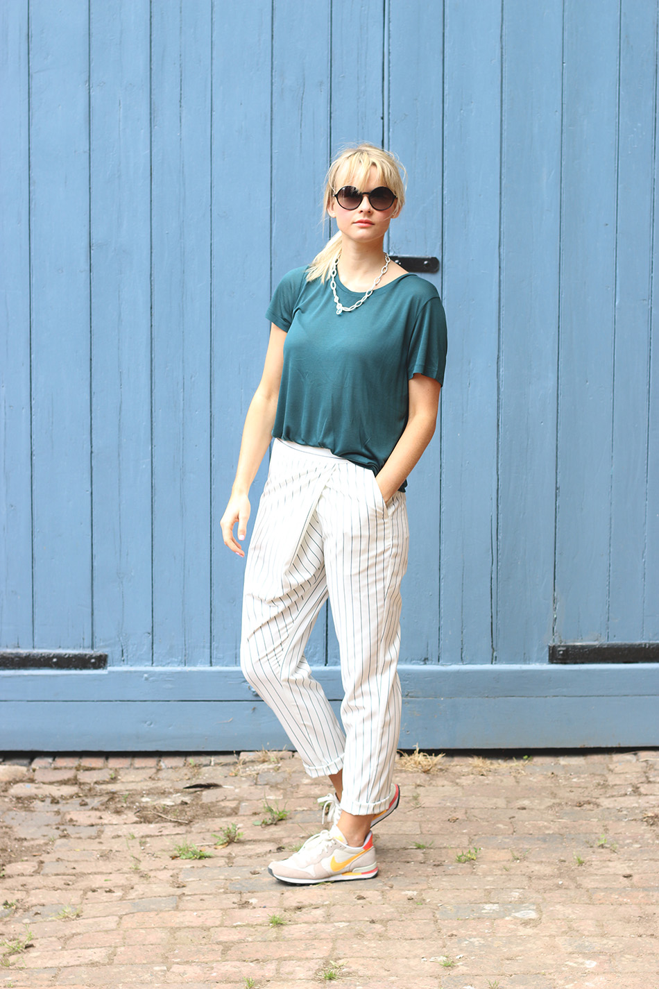 Fringe and Doll Striped trousers IMG_6938