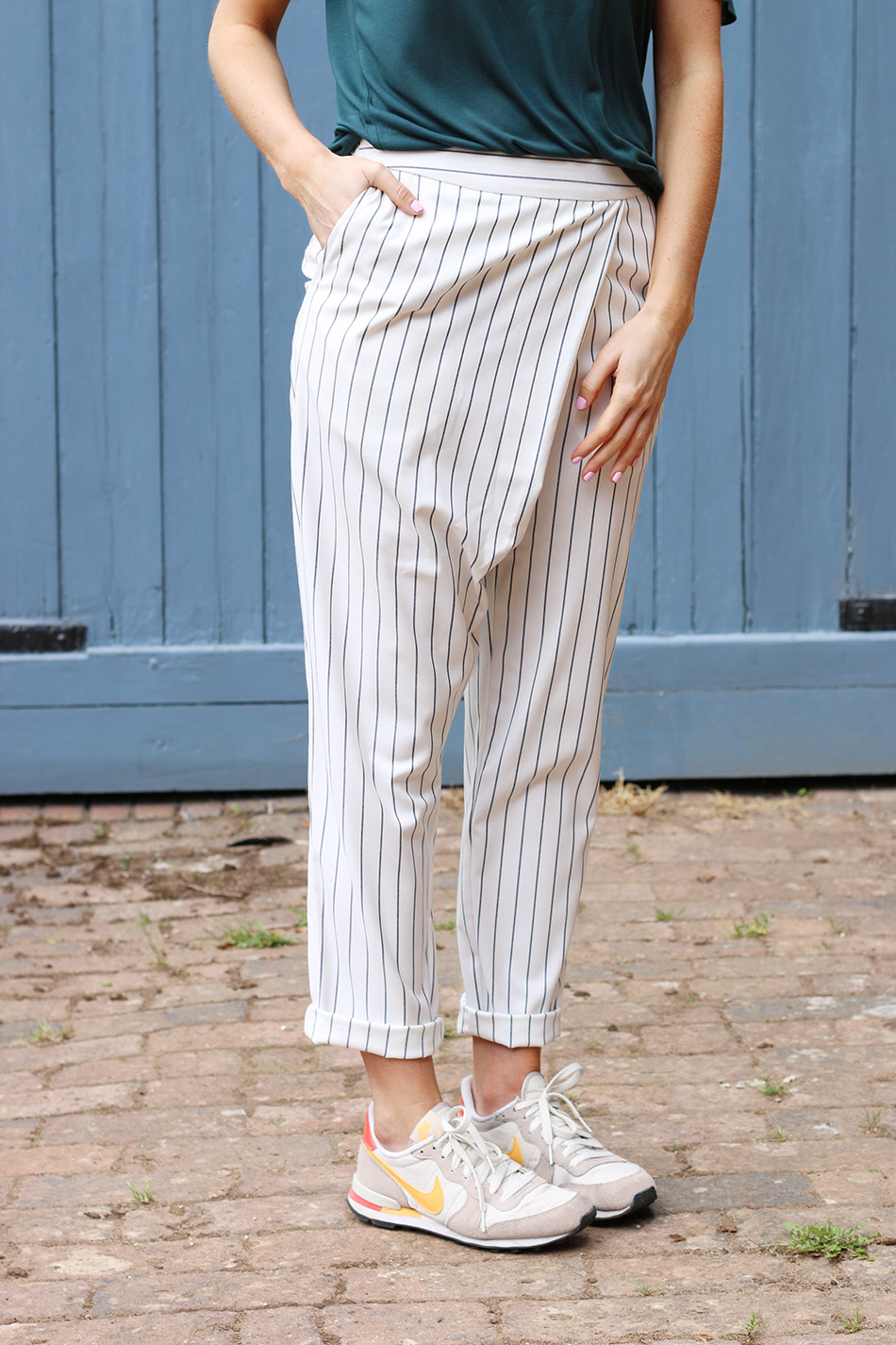 Fringe and Doll Striped trousers IMG_6990