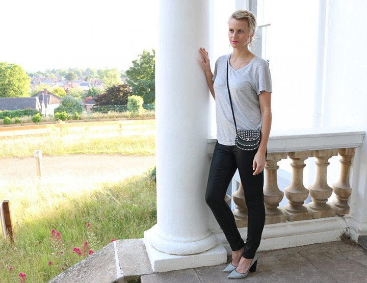 Denim Guide: Paige Leatherette Skinny jeans