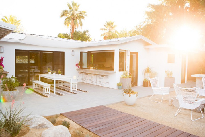 Sunday Salt and Spicy: Palm Springs Hill House