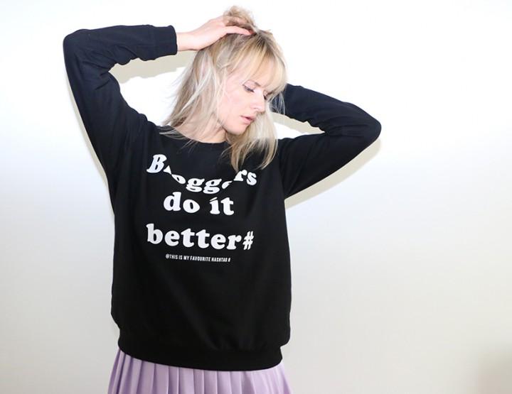 Back to Basics: Bloggers Sweatshirt