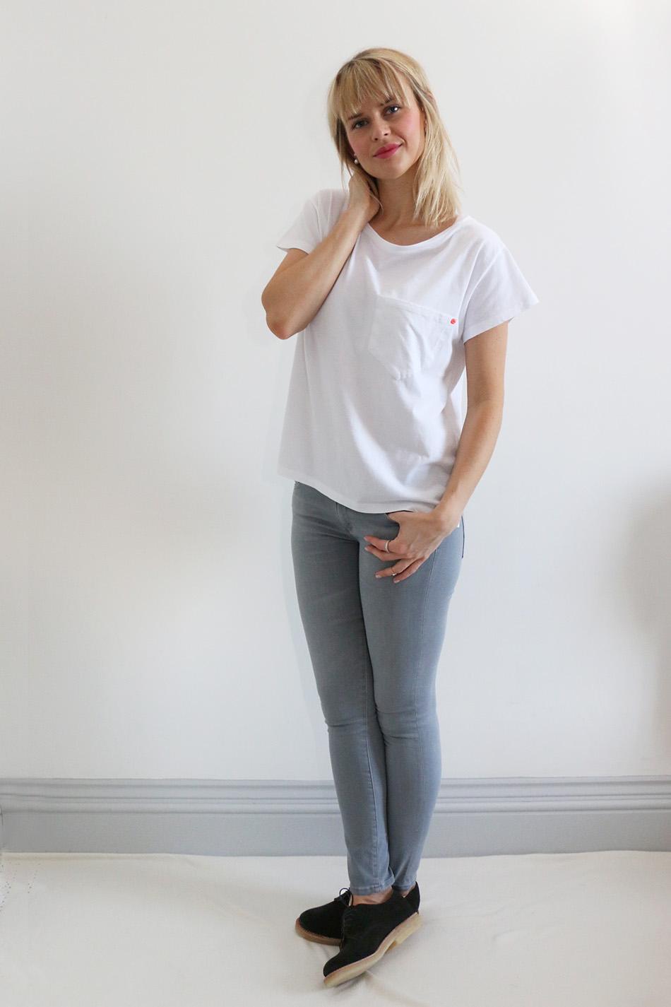 Fringe and Doll Back to basics grey and white IMG_8988