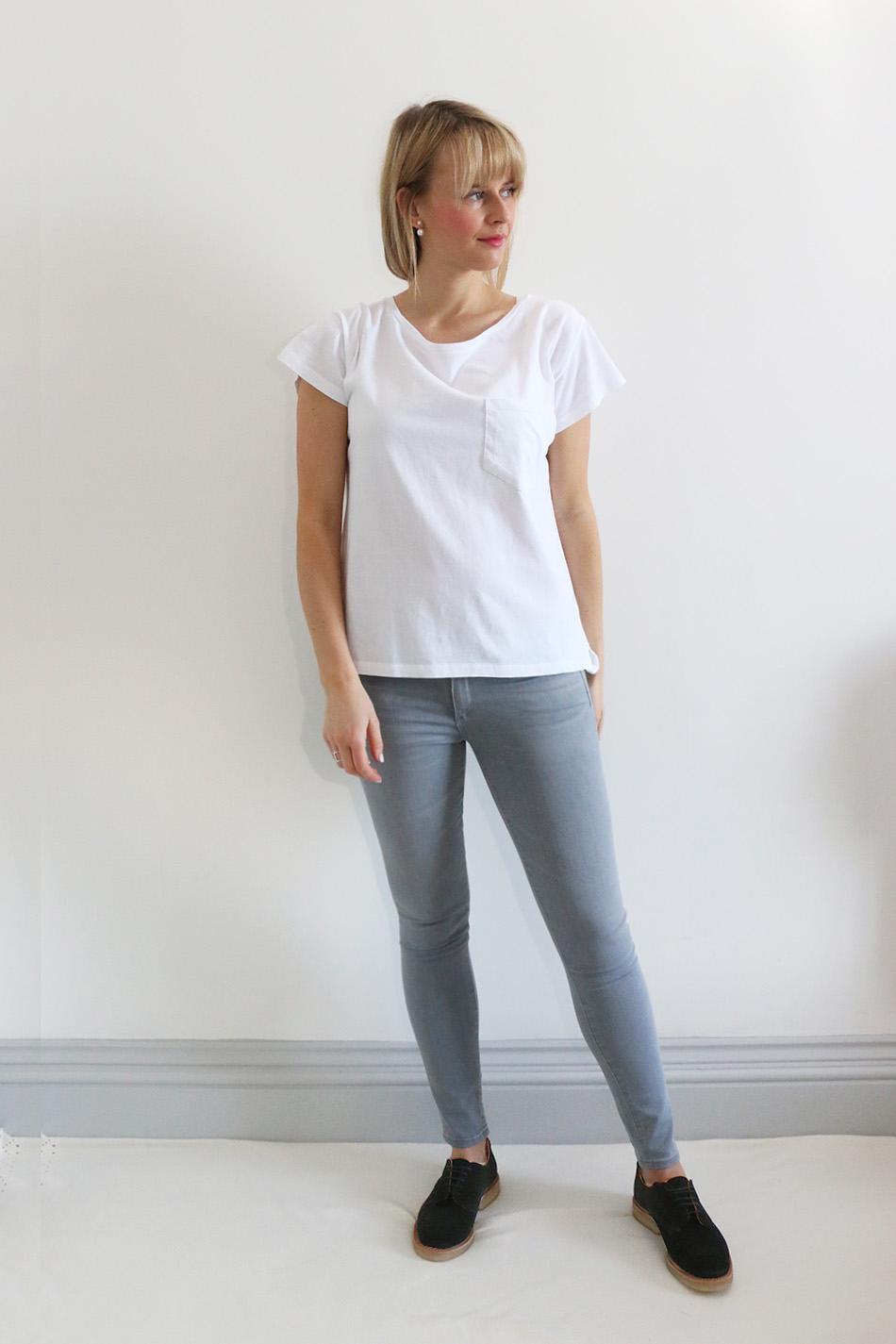 Fringe and Doll Back to basics grey and white IMG_8999