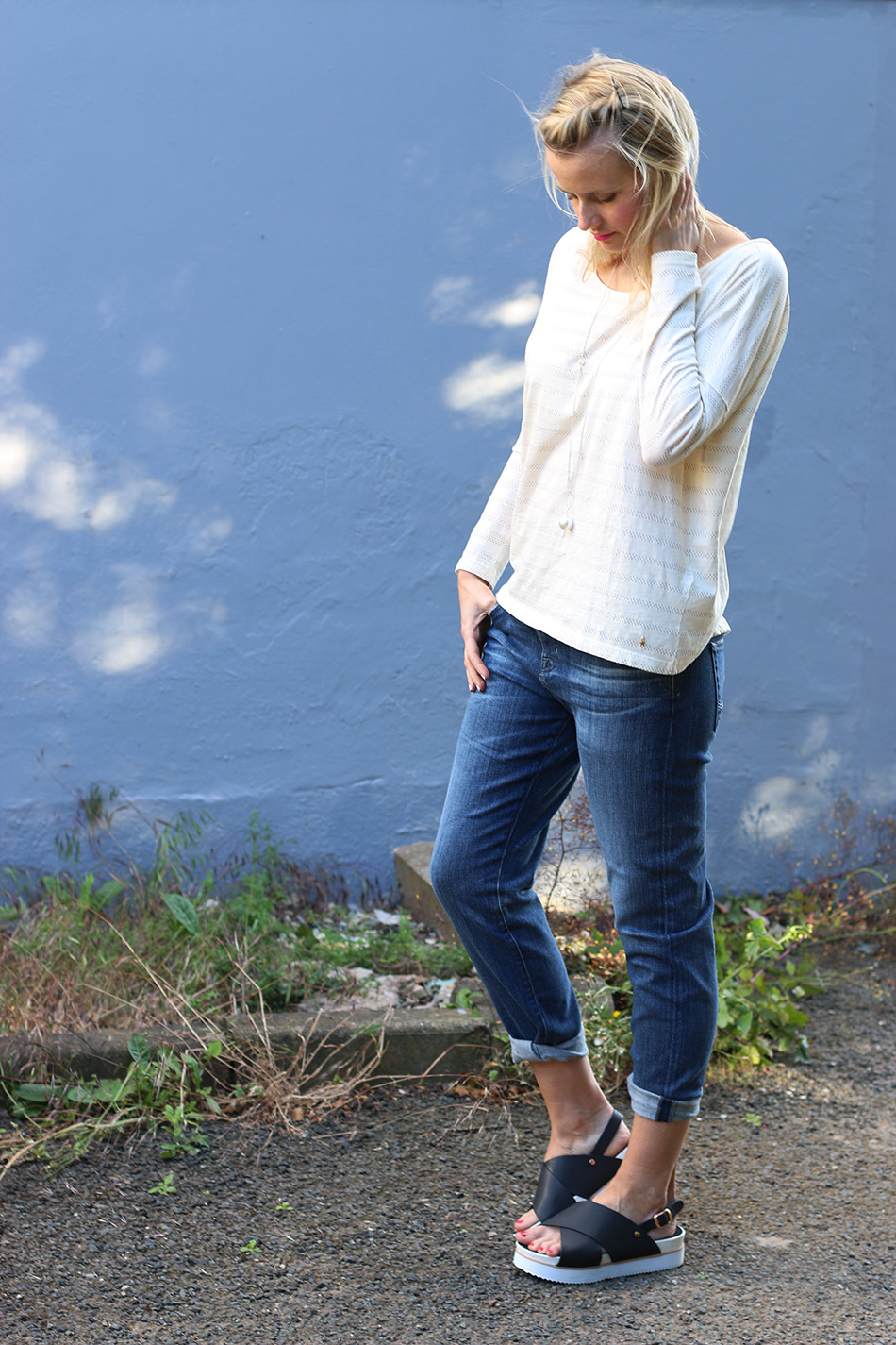 Fringe and Doll Boyfriend Jeans Ex Boyfriend SLim IMG_7265