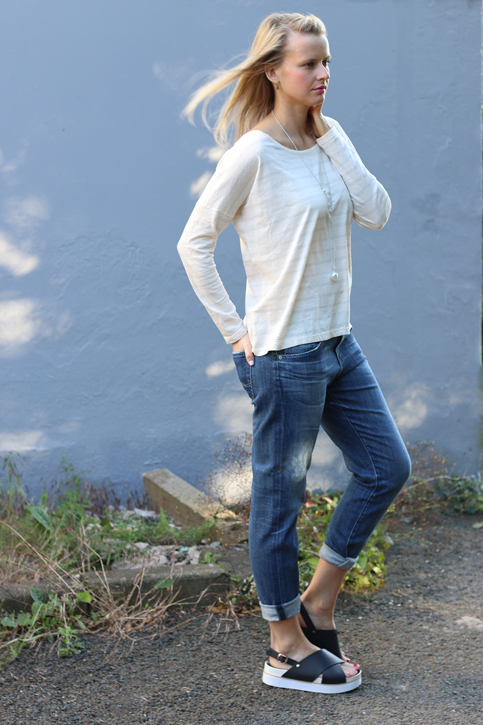 Fringe and Doll Boyfriend Jeans Ex Boyfriend SLim IMG_7272