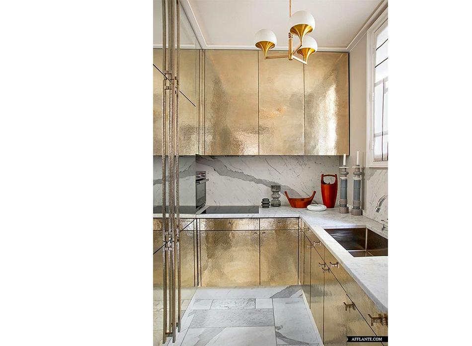 Fringe and Doll Parisian Home kitchen