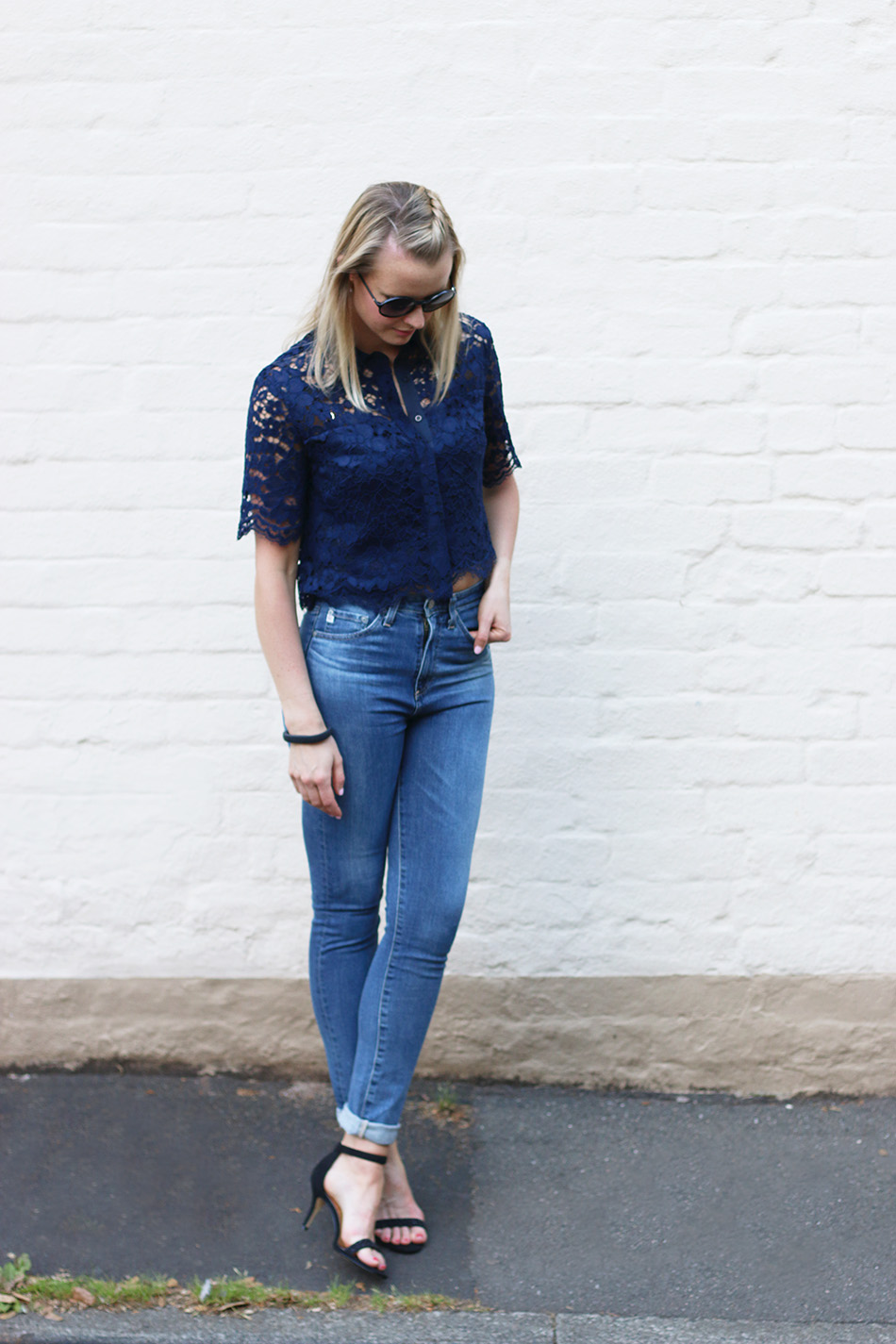 Fringe and Doll Vintage AG jeans look 1 IMG_8153