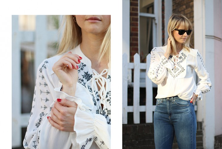 3 ways to wear: AG Vintage Skinny Jeans. Look No.2