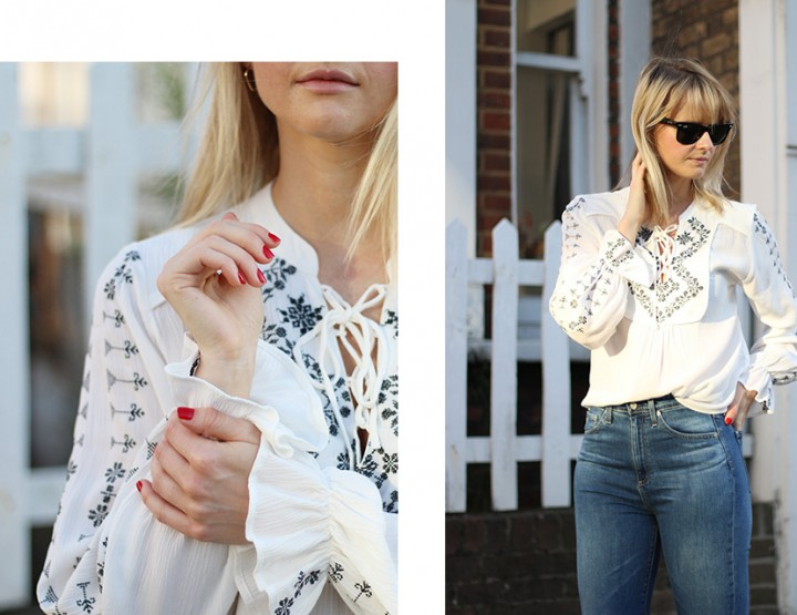 3 ways to wear: AG Vintage Skinny Jeans. Look No.2