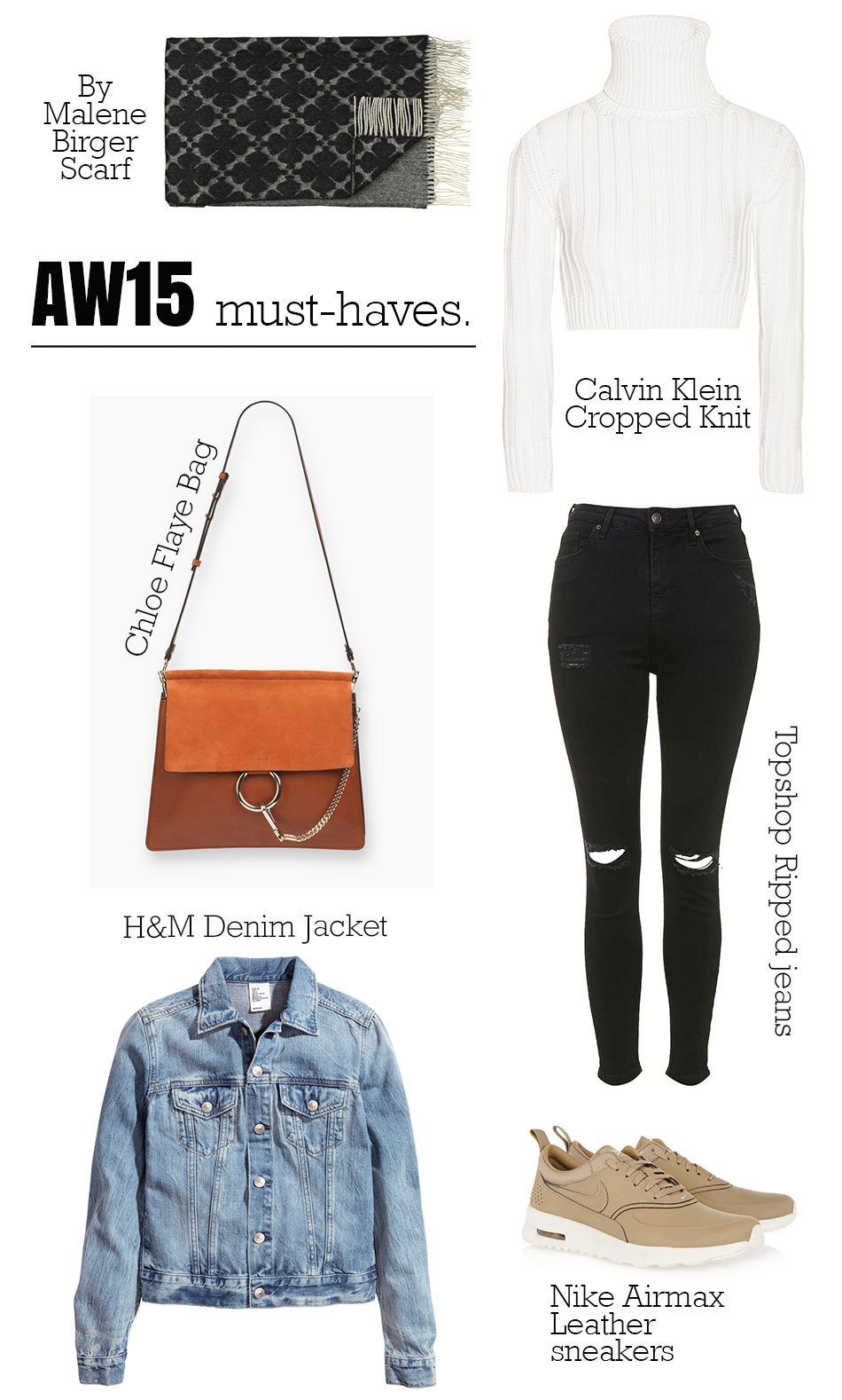 AW15 must haves Septemebr 4th