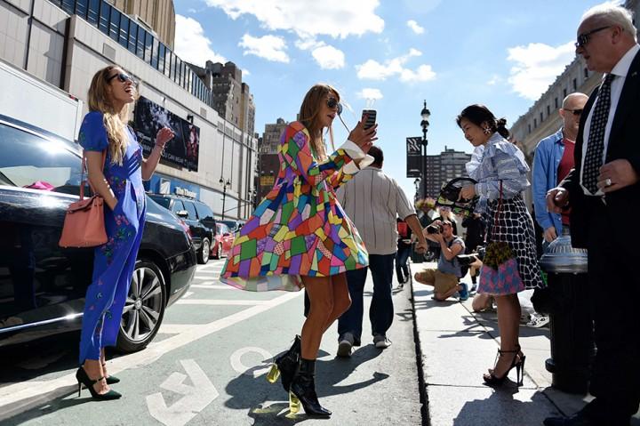Street Style Fringing | NYFW