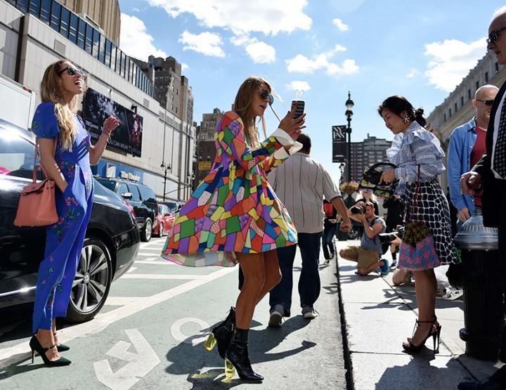 Street Style Fringing   NYFW