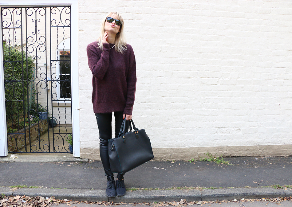 3010708301 It is all about jumpers right now. Before we get into a coat mood we should  enjoy the versatility of wearing knitwear.