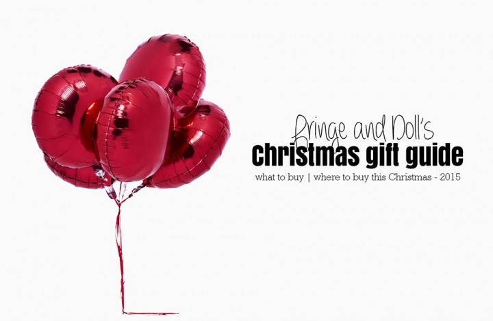 What We Want - 2015 Christmas Gift Guide