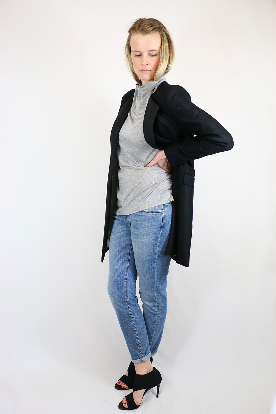 Fringe and Doll BMB Blazer and jeans IMG_1559edit