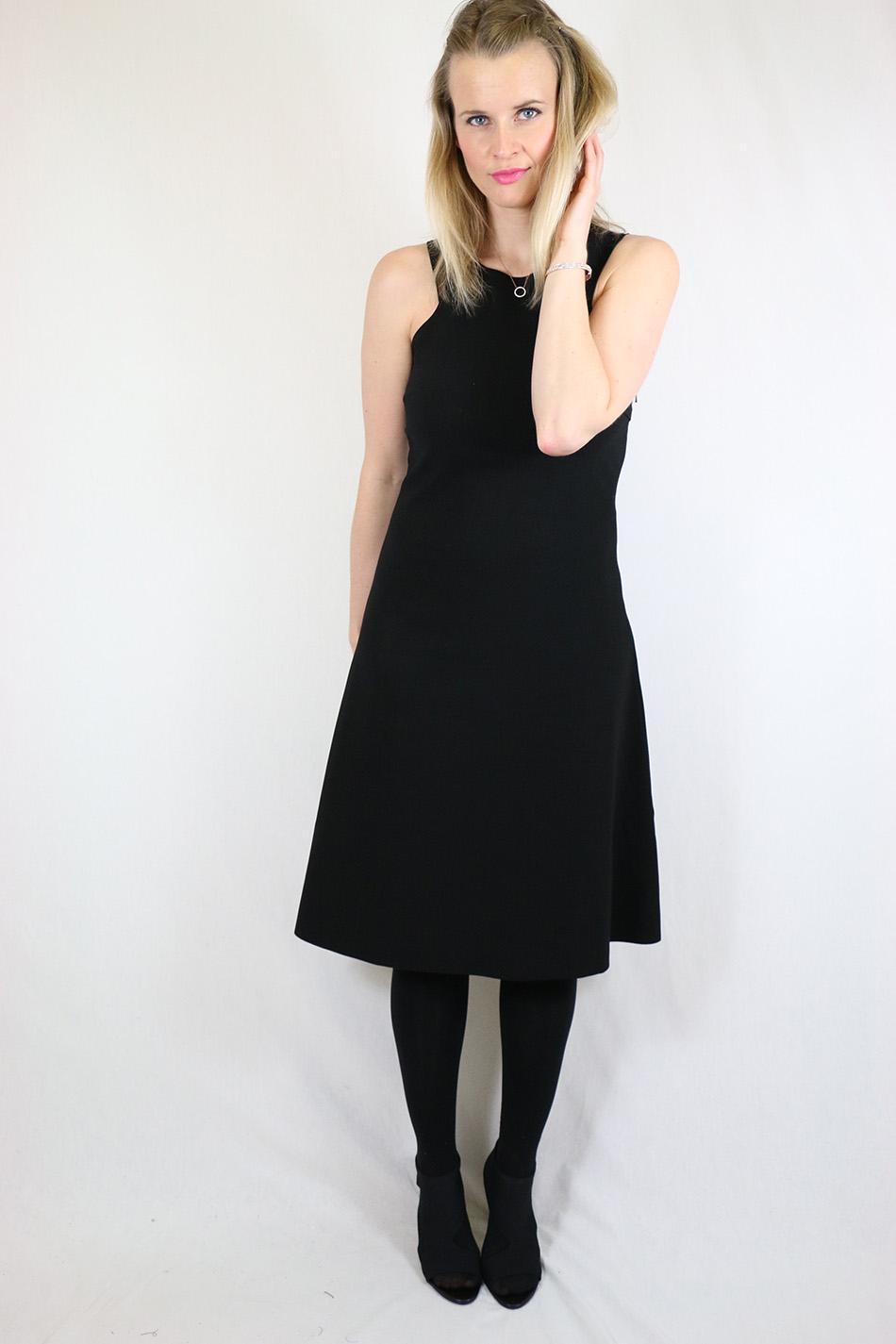 Fringe and Doll Black A-line dress IMG_1688