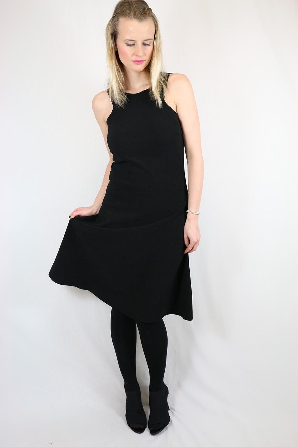 Fringe and Doll Black A-line dress IMG_1708