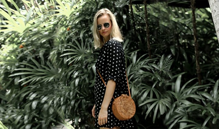 Polka Dot Dressing | Bali Edit