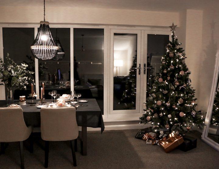 Christmas Tree Decoration & Table Setting | 12 Days of Christmas